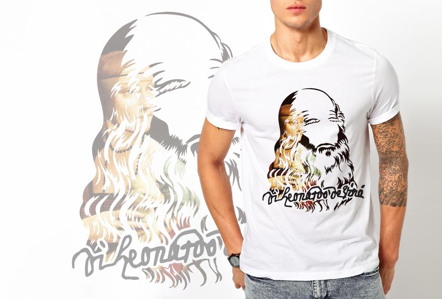 T-shirt Leonardo/Uomo