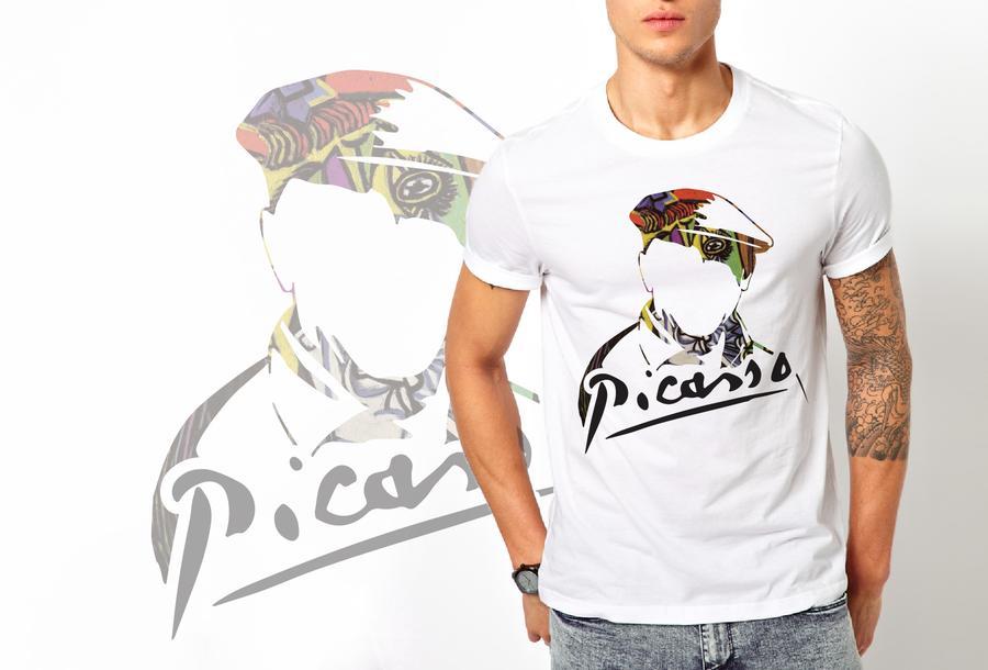 T-shirt Picasso/Uomo