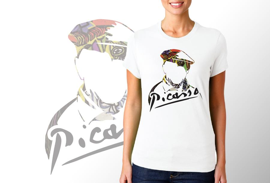 T-shirt Picasso/Donna