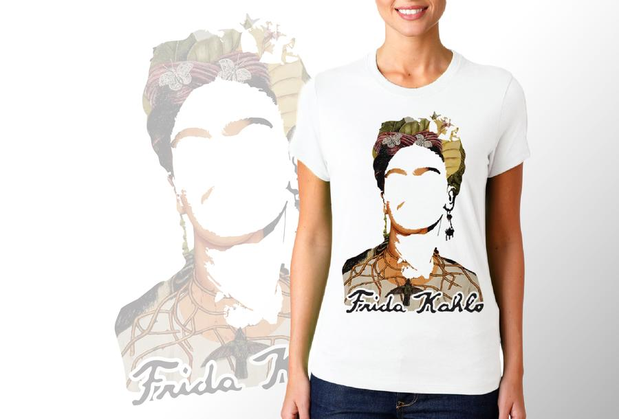 T-shirt Frida/Donna