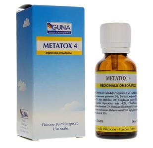 GUNA METATOX 4 Gocce
