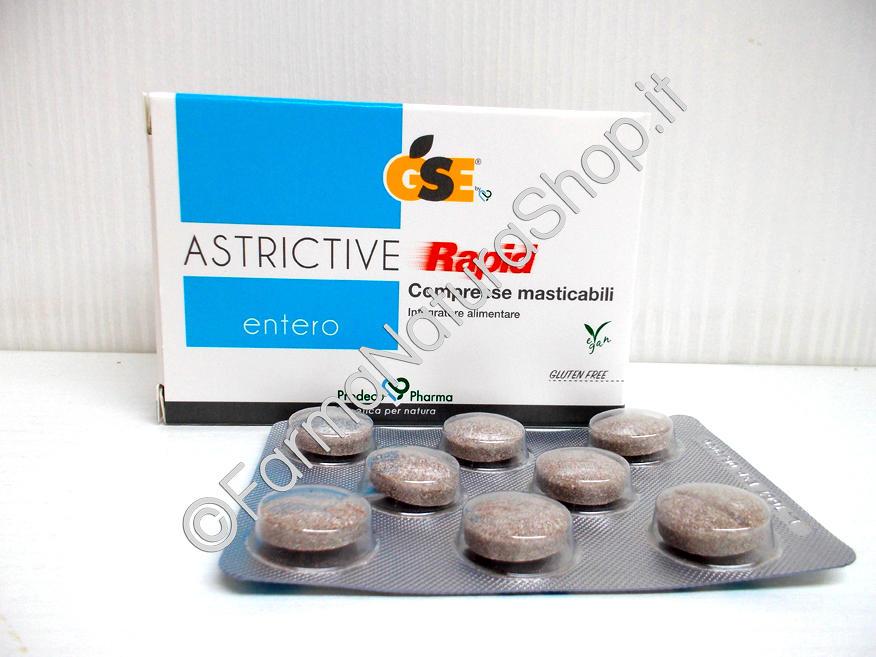 GSE Entero Astrictive Rapid Compresse masticabili