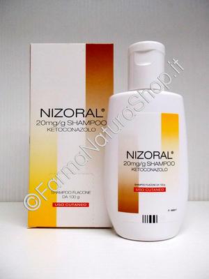 NIZORAL 20 mg/g Shampoo