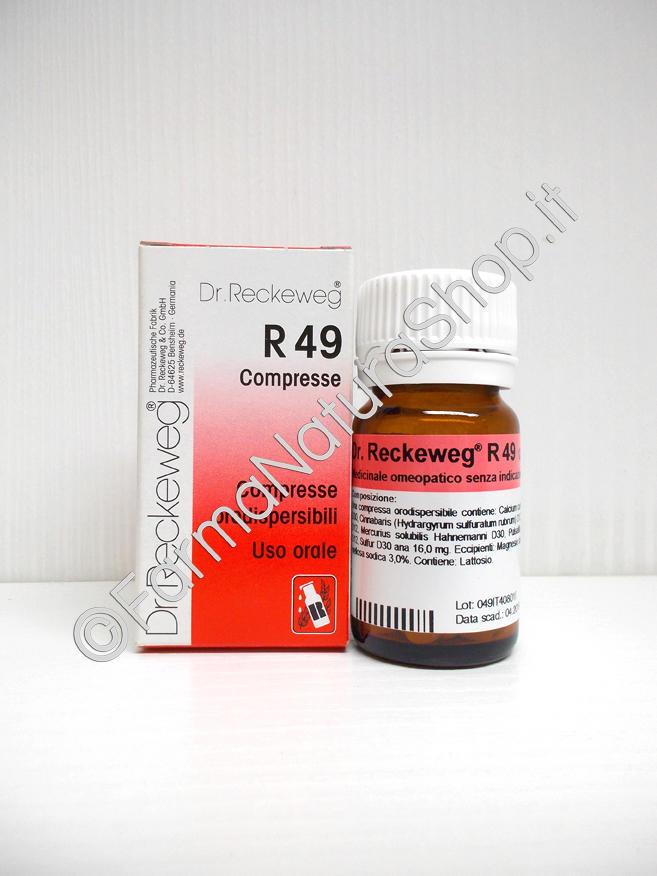 DR. RECKEWEG R49 Compresse