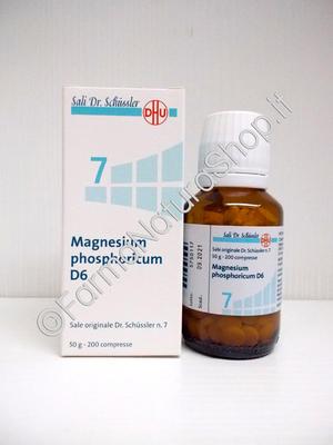 SALE DI SCHÜSSLER N.7 Magnesium Phosphoricum D6 DHU