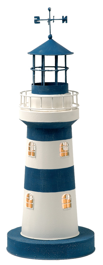 Modello di Faro Luminoso con Punti Cardinali ( alto 46 cm. ) di Artesania Esteban - Mondo Nautica 24