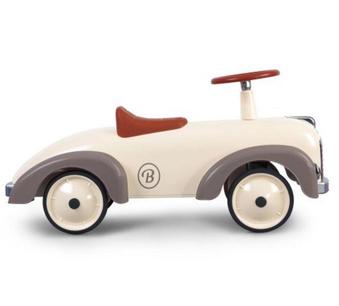 """Cavalcabile in Metallo """"Silkgrey"""" per Bambini della Linea Speedsters di Baghera 915"""