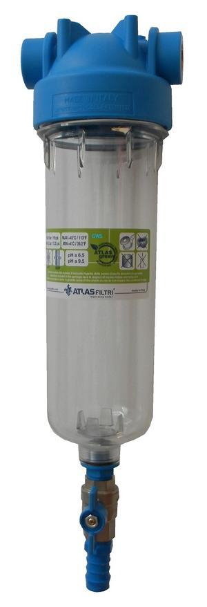 Tazza porta filtro autopulente Atlas