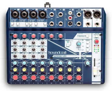Soundcraft Notepad 12FX