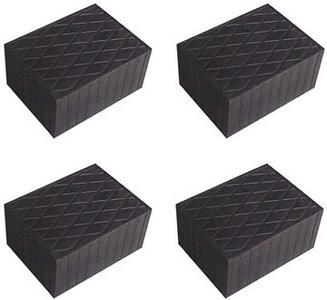 Auflageteller - Gummiteller - Gummiauflagen -Vollgummiteller für Hebebühne (4 Stück)