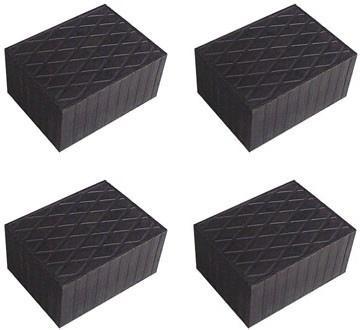 4 pièces X bloc de caoutchouc pour Pont elevateur -- tampons