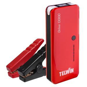 avviatore booster portatile TELWIN  DRIVE 13000 12V LITIO per auto moto barche