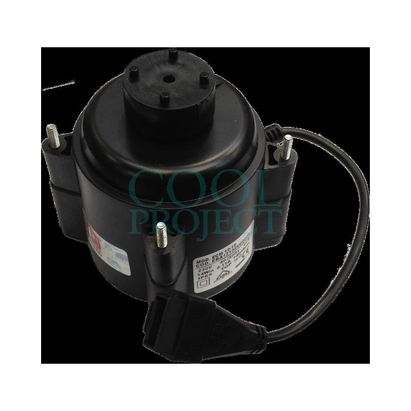 Fan Motor ELCO 12W ECM 12-15 EBA with connector