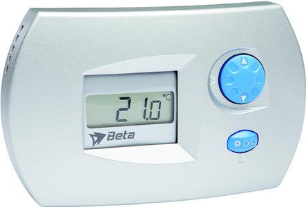 Beta EL0206 Igrostato Stand alone Silver BT90500225
