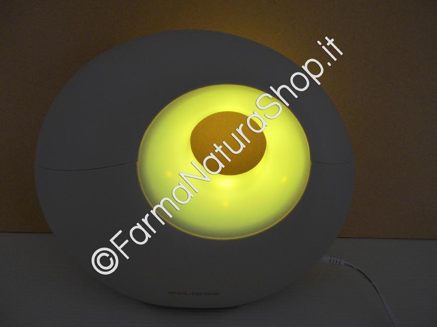 ECLISSE Diffusore Di Olii Essenziali a Ultrasuoni con lampada multicolore