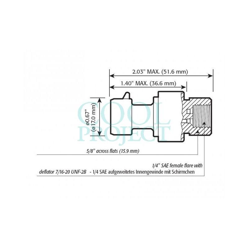 Trasduttore di Pressione Raziometrico Carel 0-45 bar