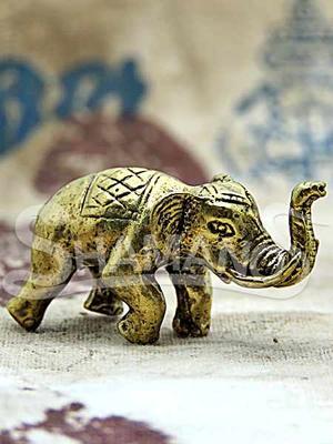 Elefante Portafortuna Originale Thailandese Attrarre Abbondanza