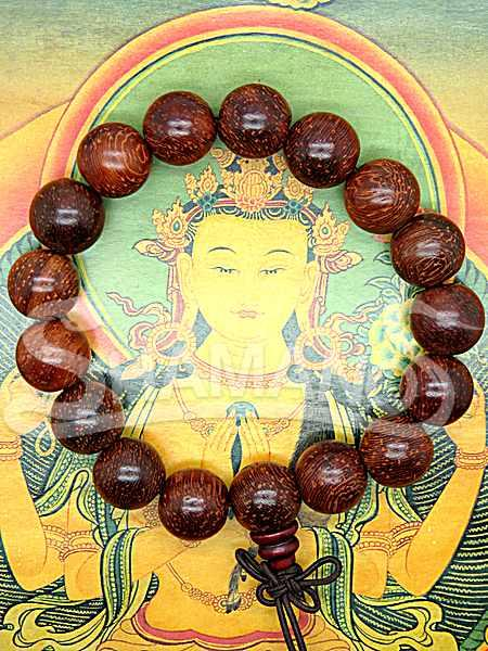 Braccialetto Tibetano 17 Perle Energizzato da Monaco