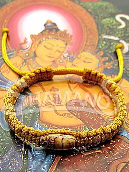 Bracciale Buddha regolabile Benedetto da Monaco Lama
