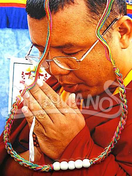 Braccialetto Buddista Portafortuna 5 Perle per attirare soldi