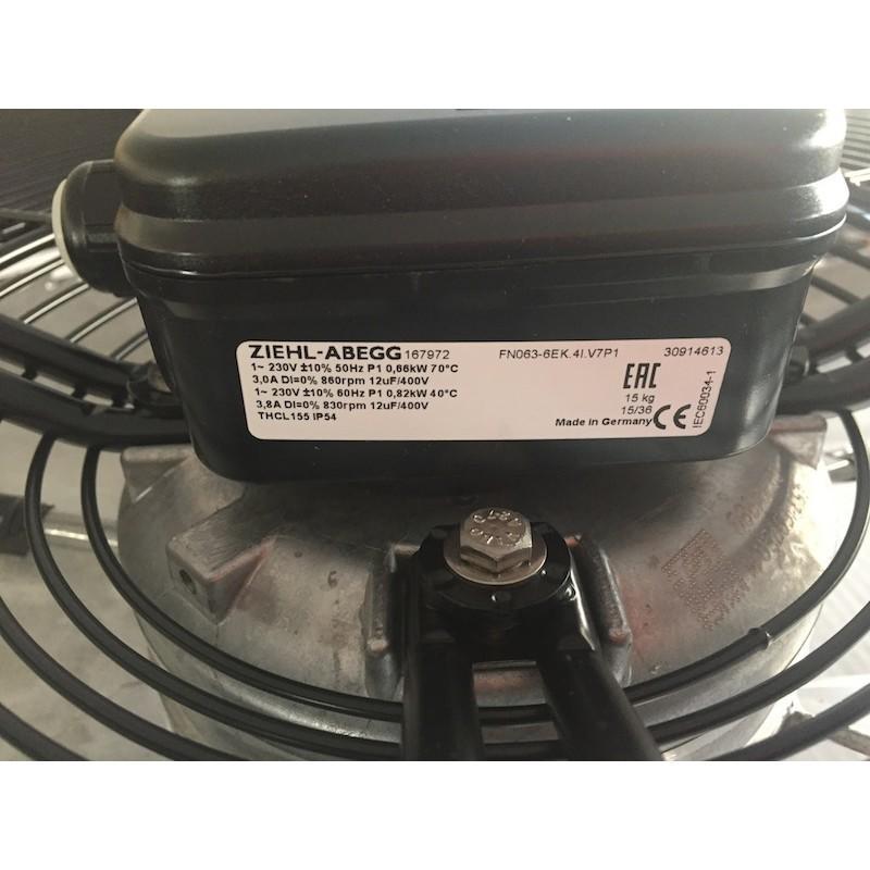 Ziehl-Abegg Motoventilatore mod. FN063-6EK.4I.V7P1