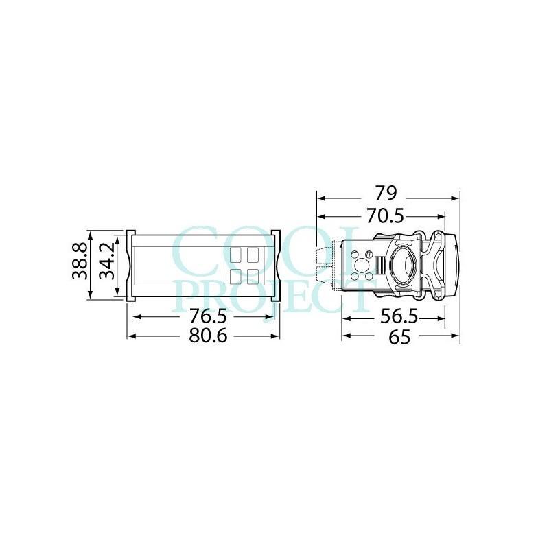 IR33 Universal - IR33Z7HB20 - 3 x SPDT + 1 x SPST Relay