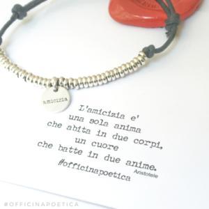 """bracciale """"AMICIZIA"""""""