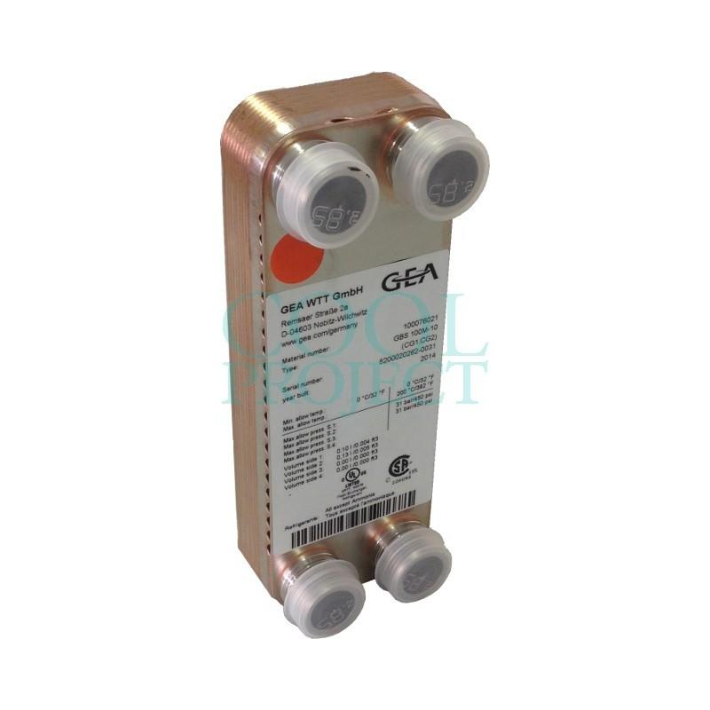 Plate Heat Exchanger GBS 100M Kelvion (GEA) ex WP1 WTT