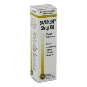 SANUM SANUKEHL STREP D6 Gocce