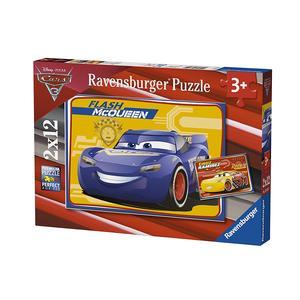 Ravensburger Italy 07614  Puzzle Disney Cars Flash Mcqueen