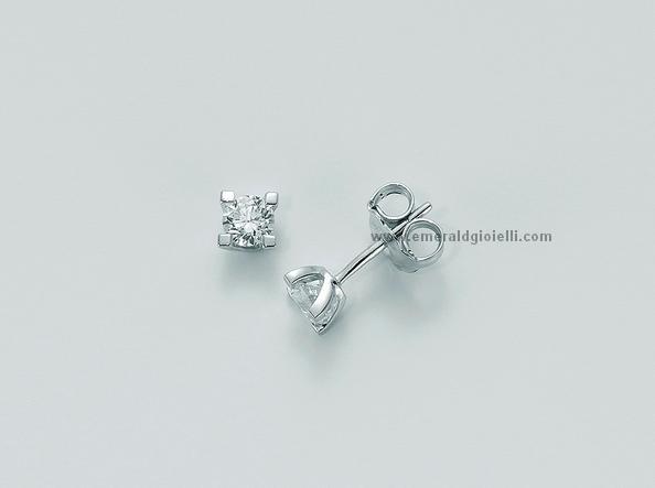 erd5068 020g7 Orecchini Punti Luce con Diamante Miluna -