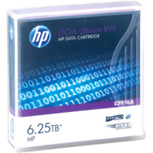 CARTUCCIA DATI HP ULTRIUM LTO-6 6,25 TB MP RW