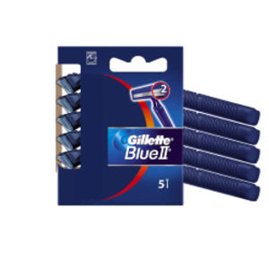 Gillette Blue II Standard - KIT 5 RASOI USAGETTA
