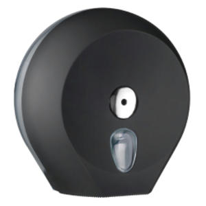 DISPENSER CARTA IGIENICA MIDI JUMBO BLACK SOFT TOUCH