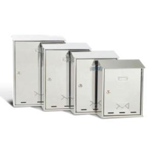 CASSETTA POSTALE 27,5x35x12cm INOX SERIE ELIOS