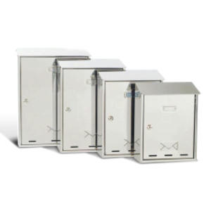 CASSETTA POSTALE 30x40x15cm INOX SERIE ELIOS