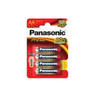 BLISTER 4 stilo LR6 Pro Power AA PANASONIC