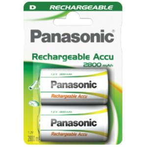 BLISTER 2 torce ricaricabili READY TO USE D PANASONIC