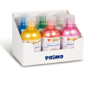 TEMPERE PERLATA 300 ML 6 PZ COLORI ASSORTITI PRIMO
