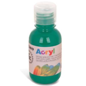 Colore acrilico fine Acryl 125ml verde smeraldo PRIMO