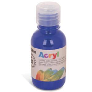 Colore acrilico fine Acryl 125ml blu oltremare PRIMO