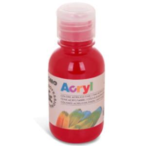 Colore acrilico fine Acryl 125ml rosso carminio PRIMO