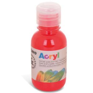 Colore acrilico fine Acryl 125ml rosso vermiglione PRIMO