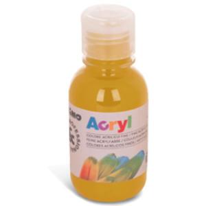 Colore acrilico fine Acryl 125ml giallo ocra PRIMO