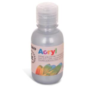 Colore acrilico fine Acryl 125ml argento PRIMO