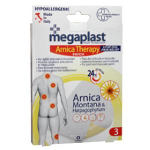 Scatola 3 CEROTTI ARNICA 9x14cm Megaplast