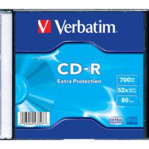 SCATOLA 200 CD-R DATALIFE SINGLE PACK SLIM CASE 1X-48X 700MB SERIGRAFATO