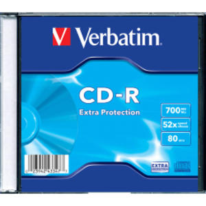 SCATOLA 200 CD-R DATALIFE SINGLE PACK SLIM CASE 1X-48X 700MB SERIGRAFATO