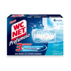 WC NET TAVOLETTA PROFUMOSO OCEAN FRESH (4X34GR)