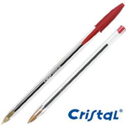 Scatola 50 penna sfera CRISTAL® medio 1,0mm rosso BIC®